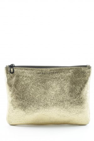Marc Jacobs Clutch goldfarben Glanz-Optik