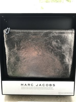 Marc Jacobs Clutch Metallic Neu
