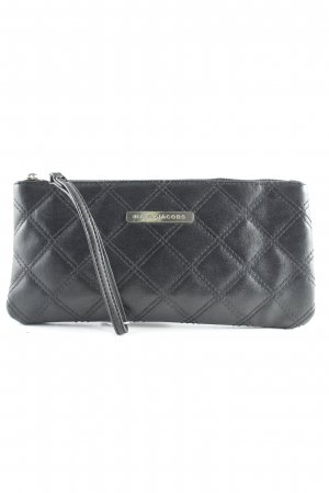 Marc Jacobs Clutch zwart quilten patroon casual uitstraling