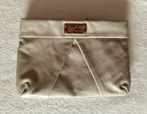 Marc by Marc Jacobs Clutch licht beige