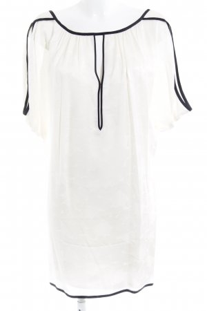 Marc Jacobs Abito cut out nero-bianco sporco Herzmuster elegante