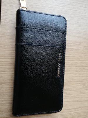 Marc Jacobs Wallet black-magenta leather