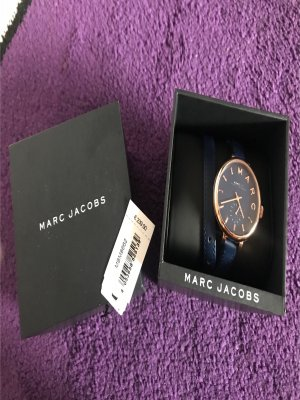 Marc Jacobs Damenuhr blau Rose Sale