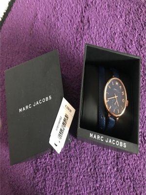 Marc Jacobs Damenuhr blau Rose wie neu