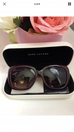Marc Jacobs Bril braambesrood-bordeaux