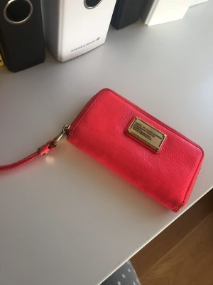 Marc Jacobs Portefeuille rouge fluo