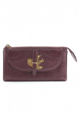 Marc Jacobs Cartera burdeos-color oro elegante