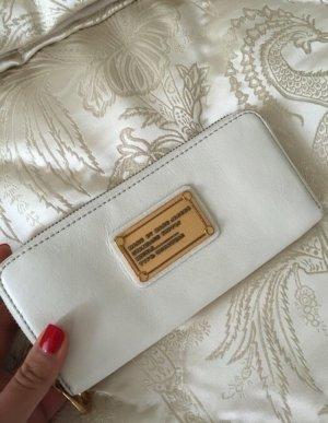 Marc Jacobs Geldbörse Portmonaie Creme Gold
