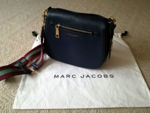 Marc Jacobs Gotham Saddle midnight blue bag
