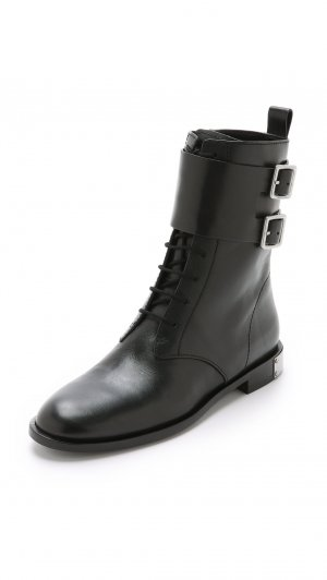 Marc Jacobs Botte noir cuir