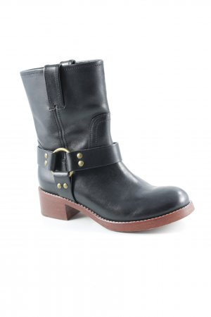 Marc Jacobs Stivaletto buskin nero stile casual