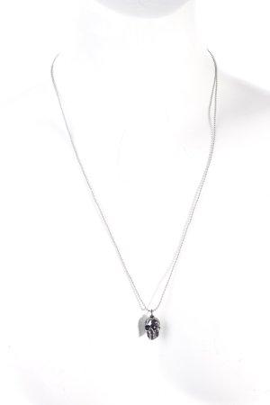 Marc Jacobs Collana argento stile gotico