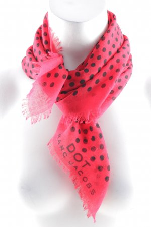 Marc Jacobs Neckerchief red-black spot pattern casual look