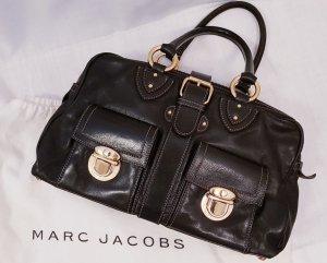 Marc Jacobs Borsetta nero-marrone Pelle
