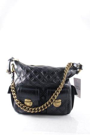 Marc Jacobs Handtasche schwarz-goldfarben klassischer Stil