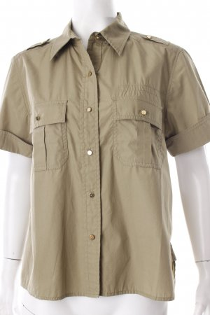Marc Jacobs Hemd-Bluse khaki Military-Look