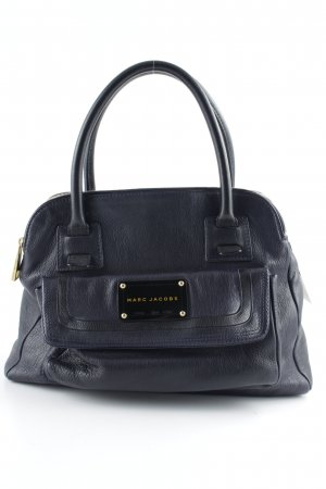 Marc Jacobs Henkeltasche goldfarben-dunkelblau Business-Look