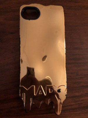 Marc Jacobs Mobile Phone Case gold-colored-bronze-colored