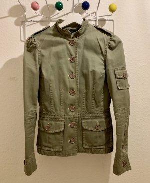 Marc Jacobs Veste militaire vert olive