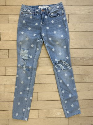 Marc by Marc Jacobs Tube jeans azuur-wit