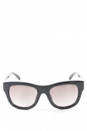 Marc Jacobs Vierkante bril zwart-bruin gestippeld casual uitstraling