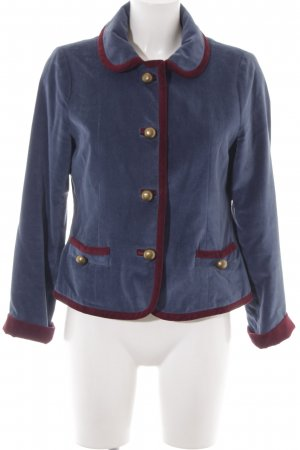 Marc Jacobs Short Jacket slate-gray-dark red business style