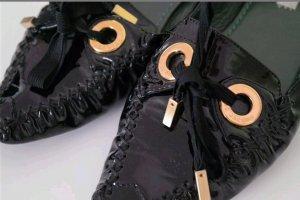 Marc Jacobs Lackleder Schuhe Ballerina