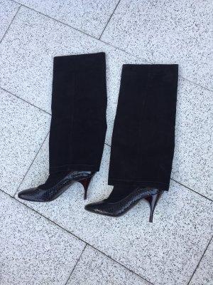 Marc Jacobs Botas de pantorrilla ancha negro