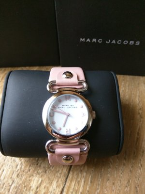 Marc Jacobs Watch With Leather Strap dusky pink leather