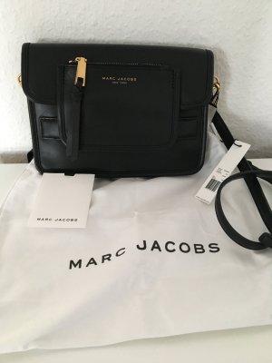 Marc Jacobs Bolsa de hombro negro Cuero
