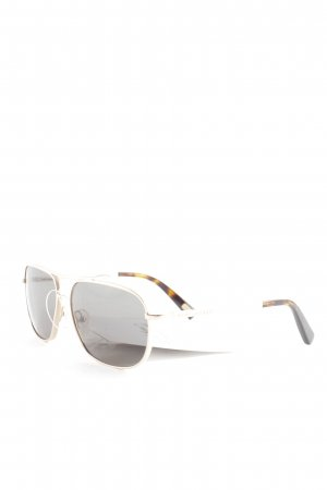 Marc Jacobs Oval Sunglasses dark brown-light brown color gradient classic style