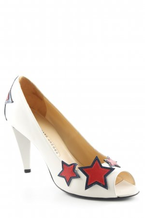 Marc Jacobs Peep Toe Pumps Sterrenpatroon casual uitstraling