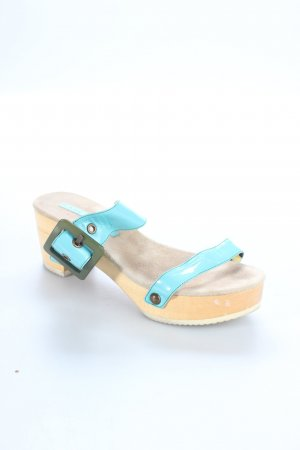 Marc Jacobs Platform High-Heeled Sandal turquoise extravagant style