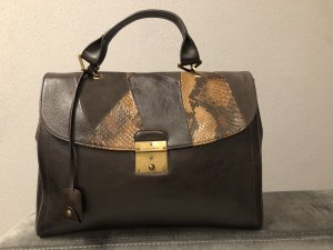Marc Jacobs Borsetta marrone-nero Pelle