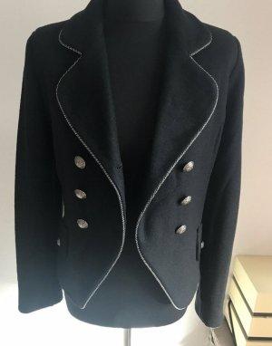 Marc Jacobs Veste en laine noir-gris anthracite laine