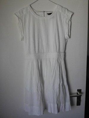 Marc Jacobs Vestido a media pierna blanco Algodón