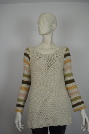 Marc Jacobs Coarse Knitted Sweater sand brown cotton
