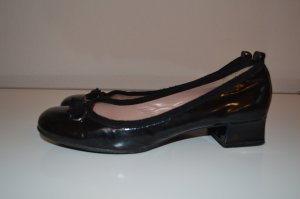 Marc Jacobs Pumps Ballerinas 39- 39,5 schwarz Leder Lackleder