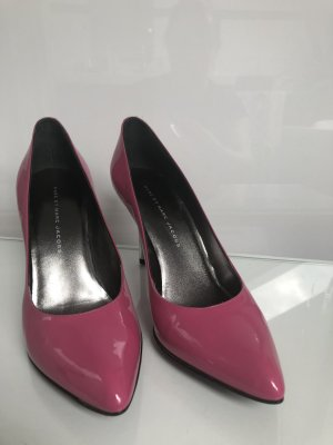 Marc Jacobs Pumps Lackleder Pink Rosa dustbag 39 Celine Dion hat die!
