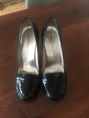 Marc Jacobs High Heels black leather