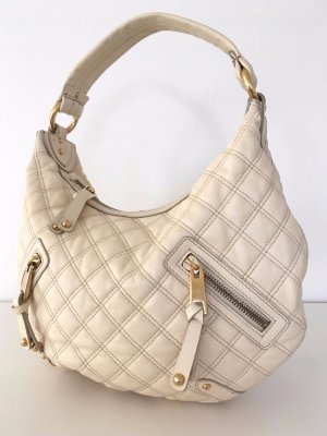 Marc Jacobs Quilted Banana Hobo Bag Damentasche Leder Creme Nude Echtleder Business Schultertasche