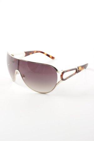 Marc Jacobs Gafas Retro marrón-negro degradado de color Estilo años 80