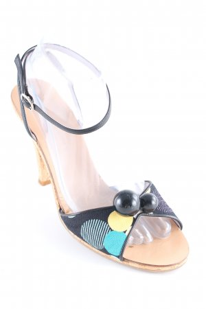 Marc Jacobs Strapped High-Heeled Sandals spot pattern casual look