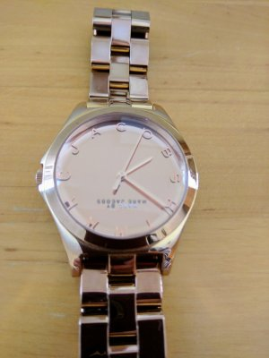 Marc by Marc Jacobs Watch With Metal Strap natural white stainless steel