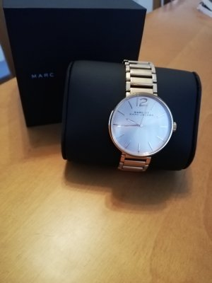 Marc by Marc Jacobs Watch With Metal Strap rose-gold-coloured stainless steel