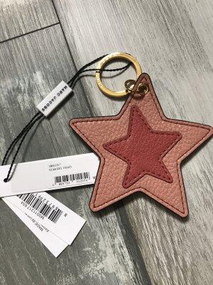 Marc Jacobs Schlüsselanhänger /Stern  neu mit Etikett Leder