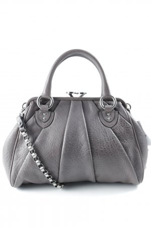 Marc Jacobs Schultertasche grauviolett Street-Fashion-Look