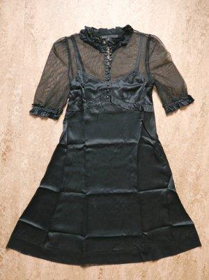 Marc Jacobs Robe mi-longue noir soie