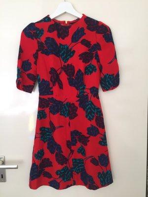 Marc Jacobs Seidenkleid mit Blumendruck