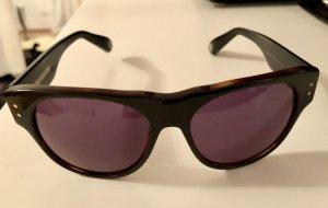Marc Jacobs Hoekige zonnebril zwart bruin
